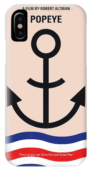 No648 My Popeye Minimal Movie Poster IPhone Case