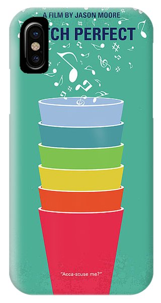 No660 My Pitch Perfect Minimal Movie Poster IPhone Case