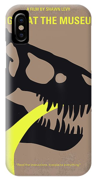 History iPhone Case - No672 My Night At The Museum Minimal Movie Poster by Chungkong Art