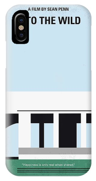 The iPhone Case - No677 My Into The Wild Minimal Movie Poster by Chungkong Art