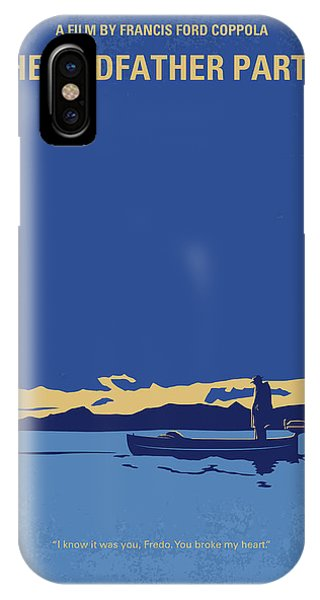 Day iPhone Case - No686-2 My Godfather II Minimal Movie Poster by Chungkong Art