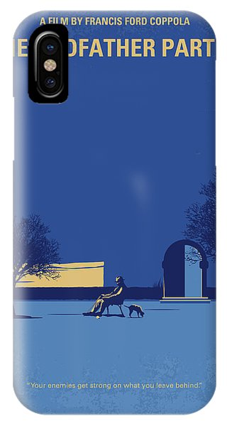 No686-3 My Godfather IIi Minimal Movie Poster IPhone Case