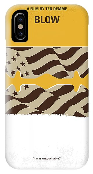 Colombian iPhone Case - No693 My Blow Minimal Movie Poster by Chungkong Art