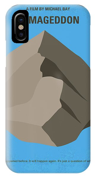 Ben Affleck iPhone Case - No695 My Armageddon Minimal Movie Poster by Chungkong Art