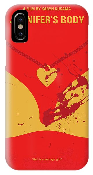 Kettles iPhone Case - No698 My Jennifers Body Minimal Movie Poster by Chungkong Art