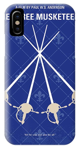 Cardinal iPhone Case - No724 My The Three Musketeers Minimal Movie Poster by Chungkong Art