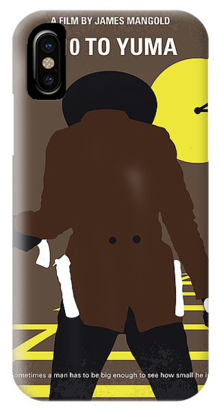 Ben iPhone Case - No726 My 310 To Yuma Minimal Movie Poster by Chungkong Art