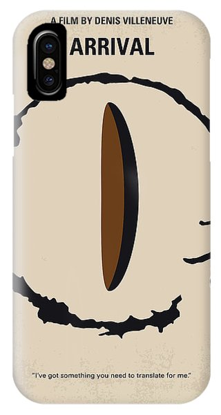 No735 My Arrival Minimal Movie Poster IPhone Case