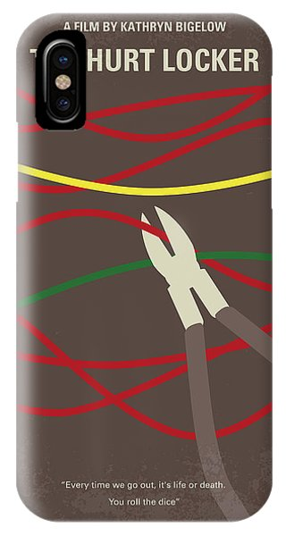 No746 My The Hurt Locker Minimal Movie Poster IPhone Case