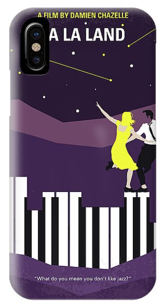 Jazz iPhone Case - No756 My La La Land Minimal Movie Poster by Chungkong Art