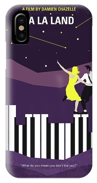Los Angeles iPhone Case - No756 My La La Land Minimal Movie Poster by Chungkong Art