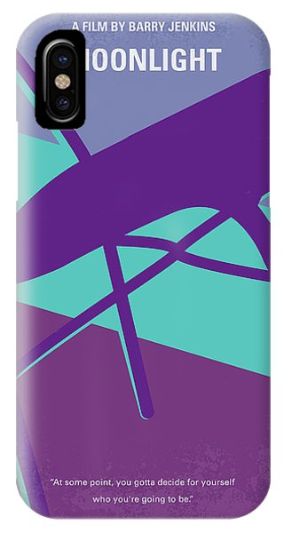 Miami iPhone Case - No757 My Moonlight Minimal Movie Poster by Chungkong Art
