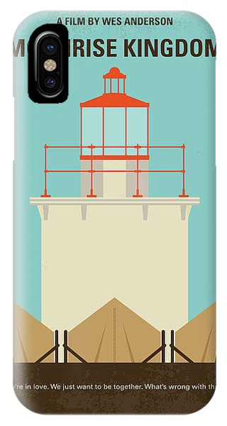 Fort iPhone Case - No760 My Moonrise Kingdom Minimal Movie Poster by Chungkong Art