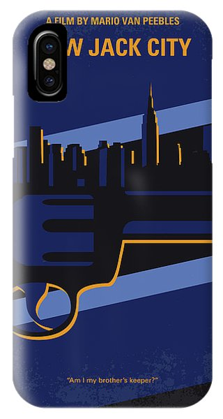 Jack iPhone Case - No762 My New Jack City Minimal Movie Poster by Chungkong Art