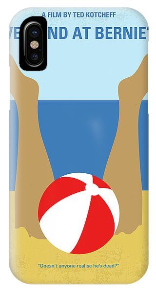 Andrew iPhone Case - No765 My Weekend At Bernies Minimal Movie Poster by Chungkong Art