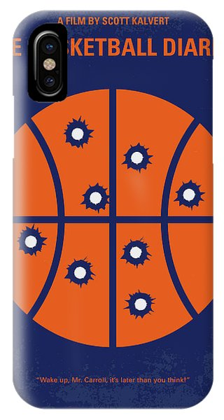 Basketball iPhone Case - No782 My The Basketball Diaries Minimal Movie Poster by Chungkong Art