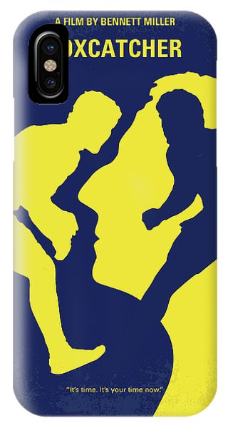 Dave iPhone Case - No788 My Foxcatcher Minimal Movie Poster by Chungkong Art