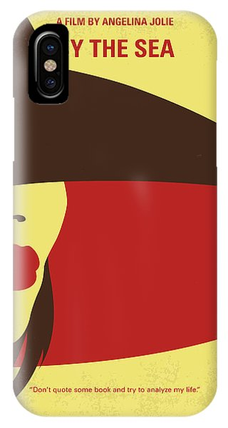 No805 My By The Sea Minimal Movie Poster IPhone Case