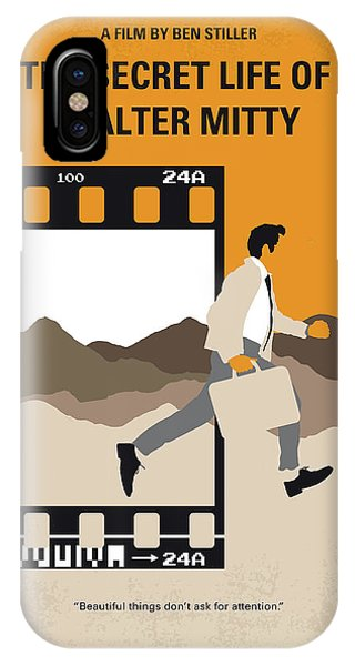 Ben iPhone Case - No806 My The Secret Life Of Walter Mitty Minimal Movie Poster by Chungkong Art