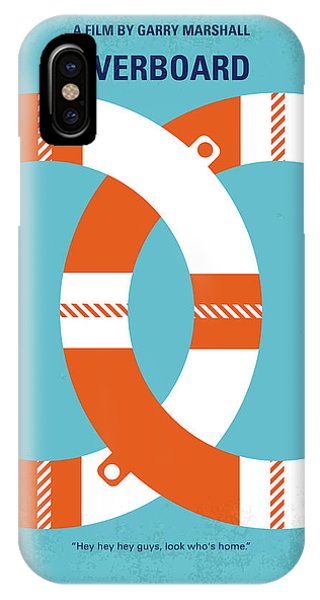 Poor iPhone Case - No815 My Overboard Minimal Movie Poster by Chungkong Art