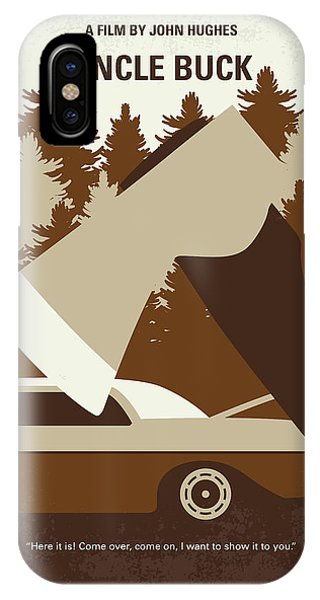 Buck iPhone Case - No818 My Uncle Buck Minimal Movie Poster by Chungkong Art
