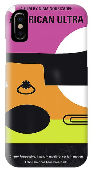Weapons iPhone Case - No827 My American Ultra Minimal Movie Poster by Chungkong Art