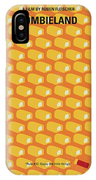 Art Cow iPhone Case - No829 My Zombieland Minimal Movie Poster by Chungkong Art