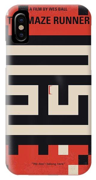 No837 My The Maze Runner Minimal Movie Poster IPhone Case