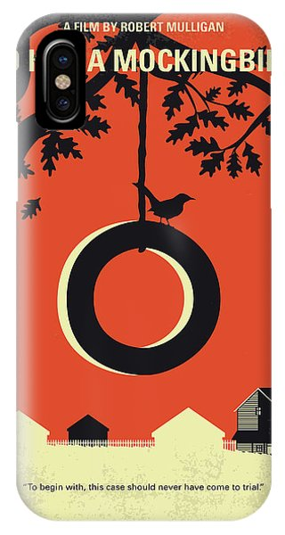 Finch iPhone Case - No844 My To Kill A Mockingbird Minimal Movie Poster by Chungkong Art