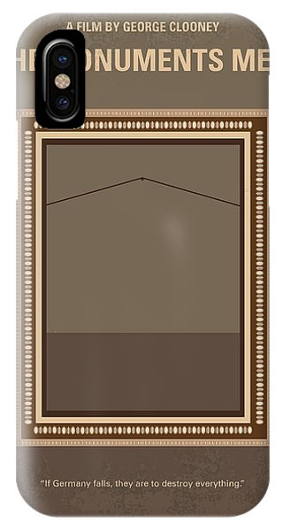 Monument iPhone Case - No845 My The Monuments Men Minimal Movie Poster by Chungkong Art