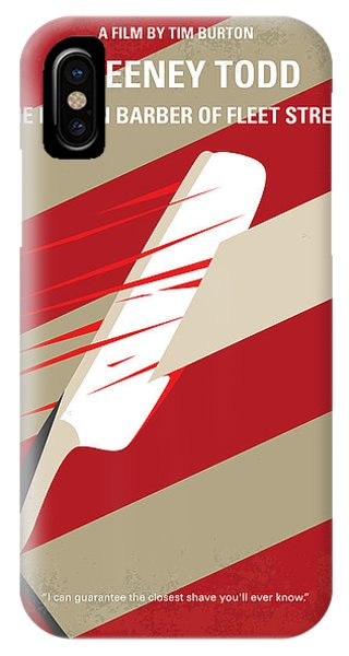 No849 My Sweeney Todd Minimal Movie Poster IPhone Case