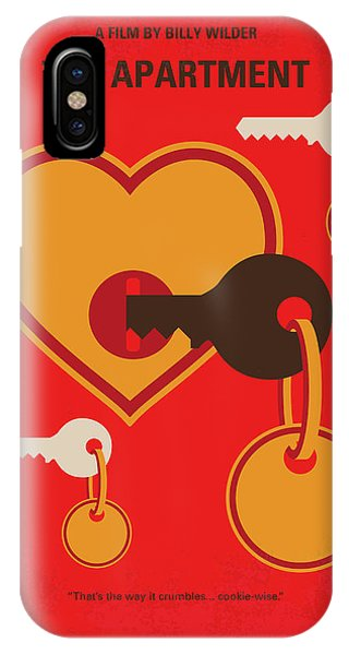 Jack iPhone Case - No853 My The Apartment Minimal Movie Poster by Chungkong Art