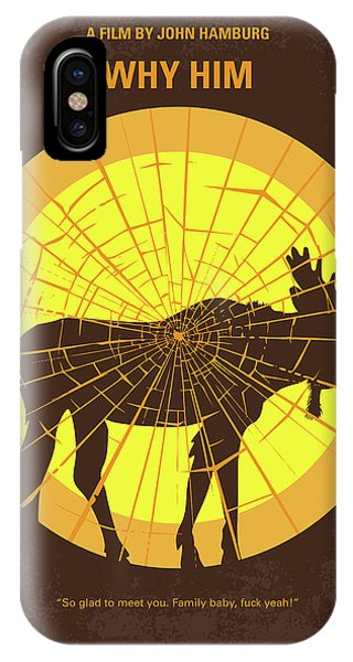 Stanford iPhone Case - No859 My Why Him Minimal Movie Poster by Chungkong Art