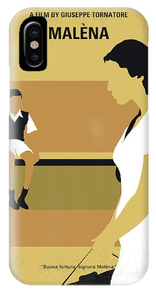 Lust iPhone Case - No870 My Malena Minimal Movie Poster by Chungkong Art