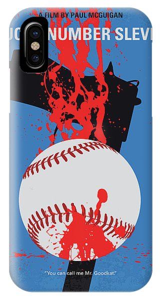 Fairy iPhone Case - No880 My Lucky Number Slevin Minimal Movie Poster by Chungkong Art
