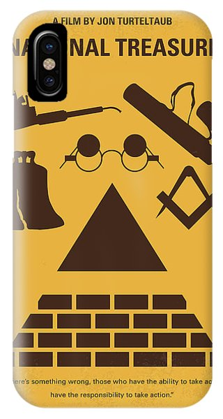 Ben iPhone Case - No887 My National Treasure Minimal Movie Poster by Chungkong Art