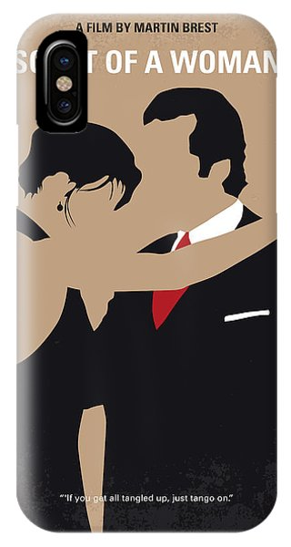 Tango iPhone Case - No888 My Scent Of A Woman Minimal Movie Poster by Chungkong Art