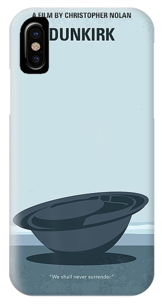 British Empire iPhone Case - No905 My Dunkirk Minimal Movie Poster by Chungkong Art