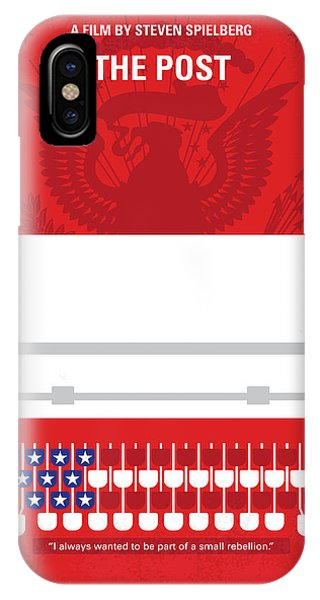 Military iPhone Case - No907 My The Post Minimal Movie Poster by Chungkong Art