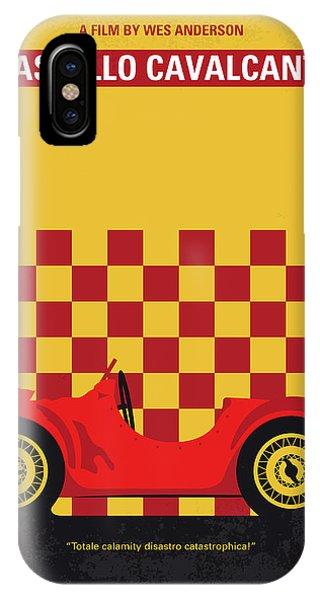 Crash iPhone X Case - No927 My Castello Cavalcanti Minimal Movie Poster by Chungkong Art