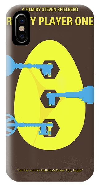 Players iPhone Case - No929 My Ready Player One Minimal Movie Poster by Chungkong Art