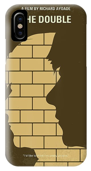 Double iPhone Case - No936 My The Double Minimal Movie Poster by Chungkong Art