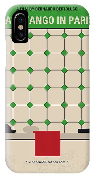 Tango iPhone Case - No941 My Last Tango In Paris Minimal Movie Poster by Chungkong Art