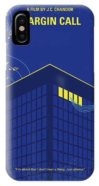 Capitalism iPhone Case - No950 My Margin Call Minimal Movie Poster by Chungkong Art