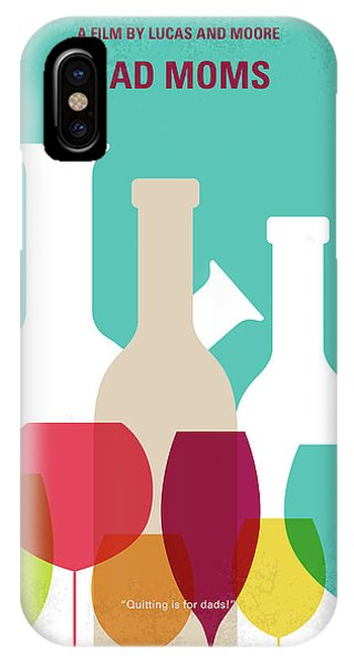 Chicago Art iPhone Case - No951 My Bad Moms Minimal Movie Poster by Chungkong Art