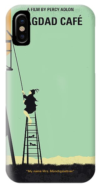 Style iPhone Case - No964 My Bagdad Cafe Minimal Movie Poster by Chungkong Art