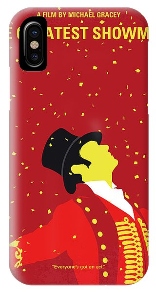 Business iPhone Case - No965 My The Greatest Showman Minimal Movie Poster by Chungkong Art