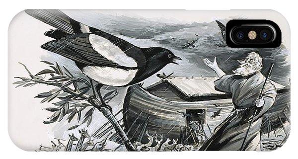 Raven iPhone Case - Noah's Ark by English School
