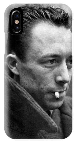 Nobel Prize Winning Writer Albert Camus Paris, France, 1962 -2015 IPhone Case