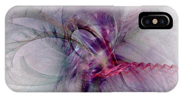 Nobility Of Spirit - Fractal Art IPhone Case